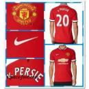 Maillot Foot Manchester United V.Persie 2014-15 Domicile