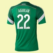 Maillot Foot Mexique (Aguilar 22) 2014 World Cup Domicile Adidas Ventes Privees