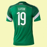 Maillot Foot Mexique (Layun 19) 2014 World Cup Domicile Cannes