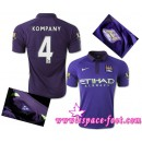 Maillot Foot Pascher - Maillot Manchester City Kompany 2015 Race Third Magasin Lyon