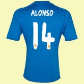 Maillot Foot Real Madrid (Alonso 14) 2015/16 Extérieur Adidas Moins Cher