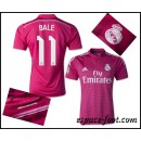 Maillot Foot Real Madrid Bale 2015 Race Extérieur