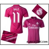 Maillot Foot Real Madrid Bale 2015 Race Extérieur