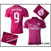 Maillot Foot Real Madrid Benzema 2015 Race Extérieur