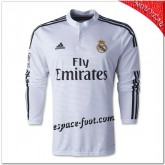 Maillot Foot Real Madrid Fc Domicile 2014 2015 Manche Longue