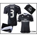 Maillot Foot Real Madrid Pepe 2015 Race Third