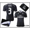 Maillot Foot Real Madrid Pepe 2015 Race Third