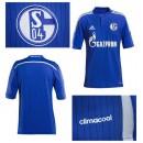 Maillot Foot Schalke 04 2014/15 Domicile Magasin De Sortie