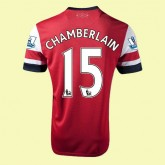 Maillot Football Arsenal (Chamberlain 15) 2015/16 Domicile Fiable