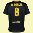 Maillot Football Barcelone (Andres Iniesta 8) 2015/16 3rd Fiable