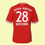 Maillot Football Bayern Munich (Badstuber 28) 2015/16 Domicile Adidas Acheter