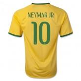 Maillot Football Brésil 2014 Coupe Du Monde Neymar Jr Domicile Soldes France