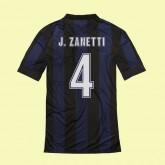 Maillot Football Inter Milan (J.Zanetti 4) 2014-2015 Domicile Nike Pas Cher Provence