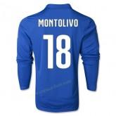 Maillot Football Italie 2014 Coupe Du Monde Montolivo Manche Longue Domicile