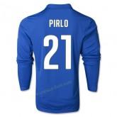 Maillot Football Italie 2014 Coupe Du Monde Pirlo Manche Longue Domicile