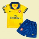 Maillot Football Junior Arsenal 2015/16 Extérieur Escompte