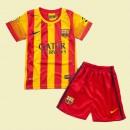 Maillot Football Junior Barcelone 2015/16 Extérieur #3104 Livraison Gratuite