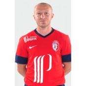 Maillot Football Lille Osc (Florent Balmont 4) 2015/16 Domicile Soldes Lyon