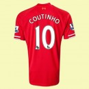 Maillot Football Liverpool (Coutinho 10) 2015/16 Domicile