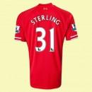 Maillot Football Liverpool (Sterling 31) 2014-2015 Domicile Pas Cher Paris