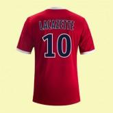 Maillot Football Lyon (Alexandre Lacazette 10) 2014-2015 Extérieur Adidas Site Francais