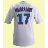 Maillot Football Lyon (Steed Malbranque 17) 2014-2015 Domicile Adidas Site Officiel