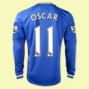 Maillot Football Manches Longues Chelsea (Oscar 11) 2014 2015 Domicile Adidas Fashion Show