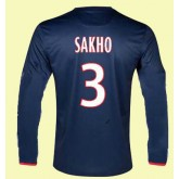 Maillot Football Manches Longues Paris -Sg (Sakho 3) 2014-2015 Domicile Pas Cher Nice