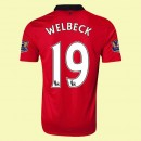 Maillot Football Manchester United (Welbeck 19) 2014-2015 Domicile Nike