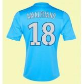 Maillot Football Marseille (Amalfitano 18) 2015/16 Extérieur Adidas Pas Chére Nice