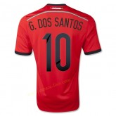 Maillot Football Mexique 2014 Coupe Du Monde G.Dos Santos Exterieur Soldes Marseille