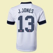 Maillot Football Usa (Jermaine Jones 13) 2014-2015 Domicile Lyon