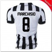 Maillot Juventus (Marchisio 8) 2014 2015 Domicile Pas Chere