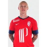 Maillot Lille Osc (Simon Kjaer 14) 2014-2015 Domicile Nike Pas Cher Marseille