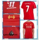 Maillot Liverpool Suarez 2014/15 Domicile Vente Privee