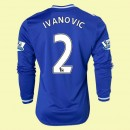 Maillot Manches Longues Chelsea (Ivanovic 2) 2014 2015 Domicile Europe