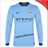 Maillot Manchester City Domicile 2014-15 Manche Longue