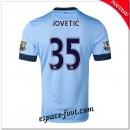 Maillot Manchester City (Jovetic 35) 2014 2015 Domicile Prix France