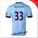Maillot Manchester City (Nastasic 33) 2014 2015 Domicile Pas Cher