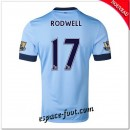 Maillot Manchester City (Rodwell 17) 2014 15 Domicile