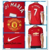 Maillot Manchester United Di Maria 2014 15 Domicile