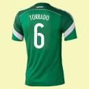 Maillot Mexique (Torrado 6) 2014 World Cup Domicile Adidas Pas Cher Provence