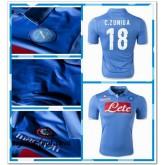 Maillot Napoli C.Zuniga 2014 15 Domicile Soldes Lyon