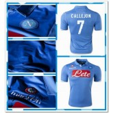 Maillot Napoli Callejon 2014 2015 Domicile Boutique France
