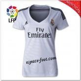 Maillot Real Madrid Fc Domicile 2014-15 Femme Escompte