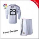 Maillot Real Madrid Fc Enfant Trousse (Isco 23) 2014-15 Manche Longue Domicile Alsace