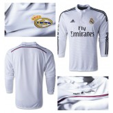 Maillot Real Madrid Ml 2014 2015 Domicile
