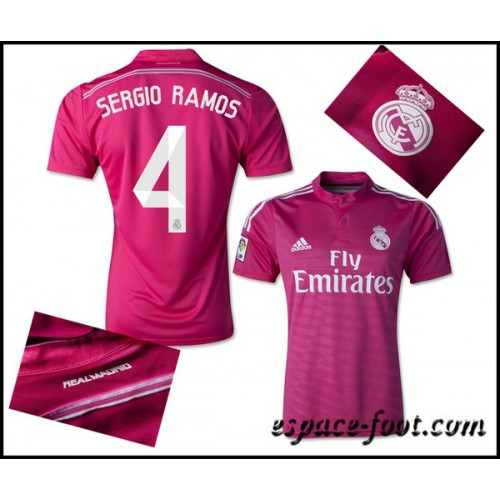 Maillot Extérieur Real Madrid Sergio Ramos