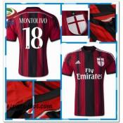 Maillots Ac Milan Montolivo 2014 2015 Domicile Original