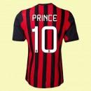 Maillots Ac Milan (Prince 10) 2015/16 Domicile Adidas Pas Chére France Soldes